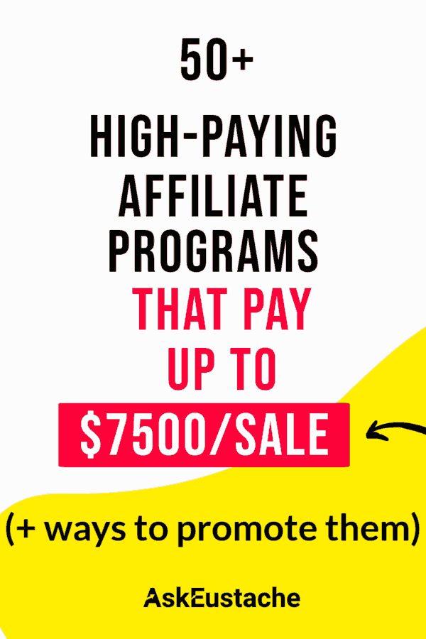 Best affiliate programs with high paying commissions
