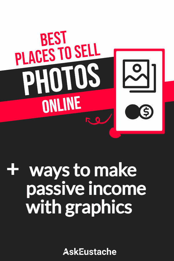 best sites to sell photos and graphics online for passive income