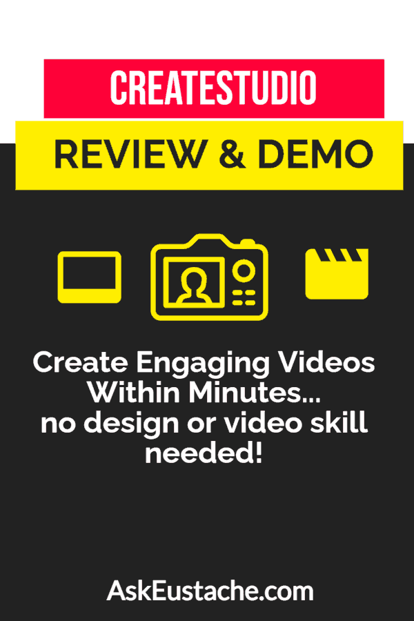 CreateStudio Review and Demo - Create Video Animation In Minutes
