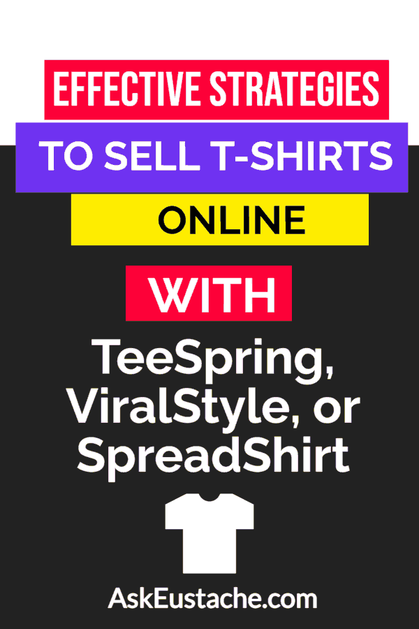 Effective strategies to sell t-shirts online