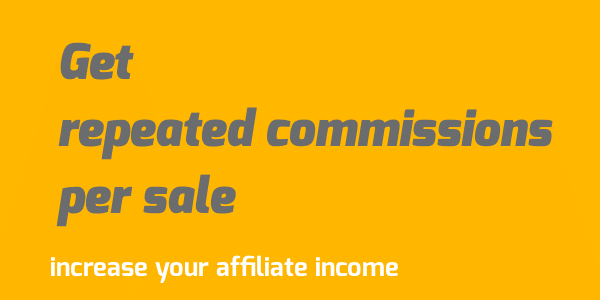 get repeated commission per sale