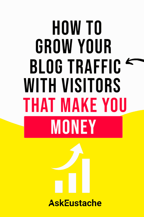 Grow your blog traffic with visitors that make you money