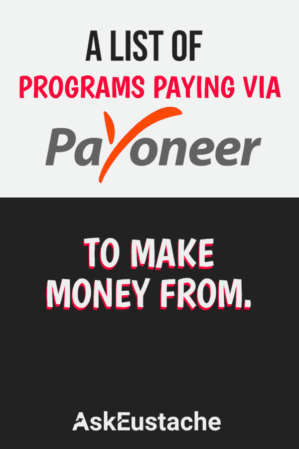 Payoneer partners to make money with