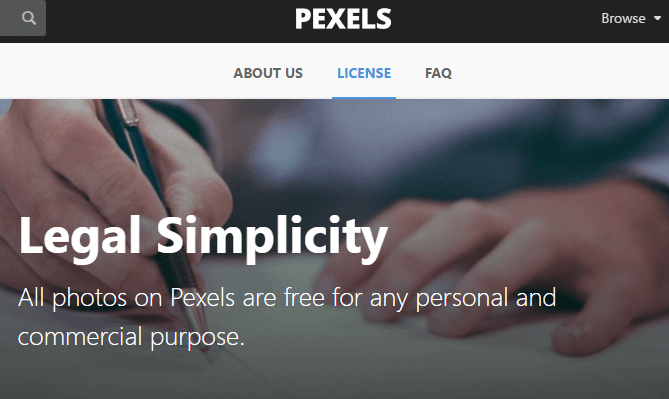 pexels - copyright free images for commercial use