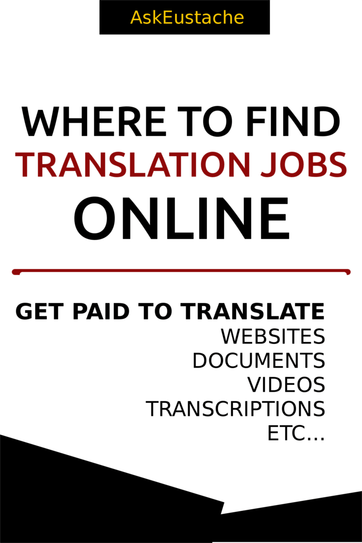 where to find online translation jobs from home