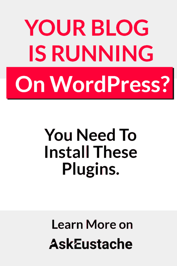 wordpress plugins to install on your blog